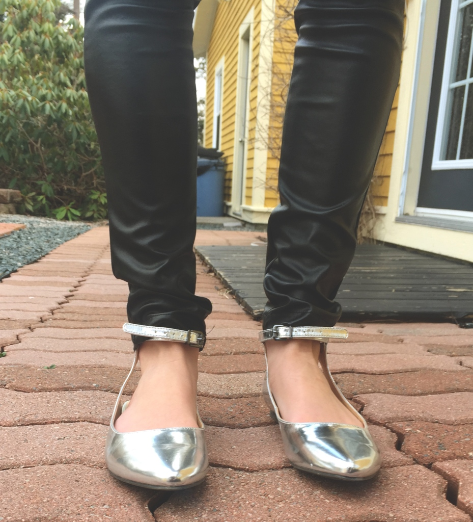 joe fresh metallic shoes